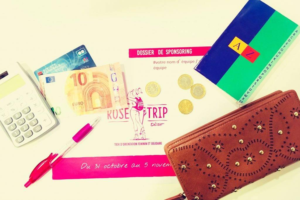 Financer son projet de randonnée Rose Trip