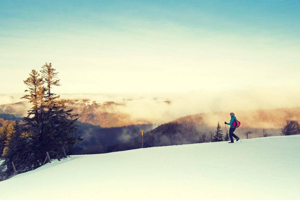 Se préparer pour une randonnée en hiver