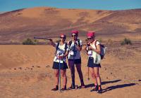 les guetres dans le desert