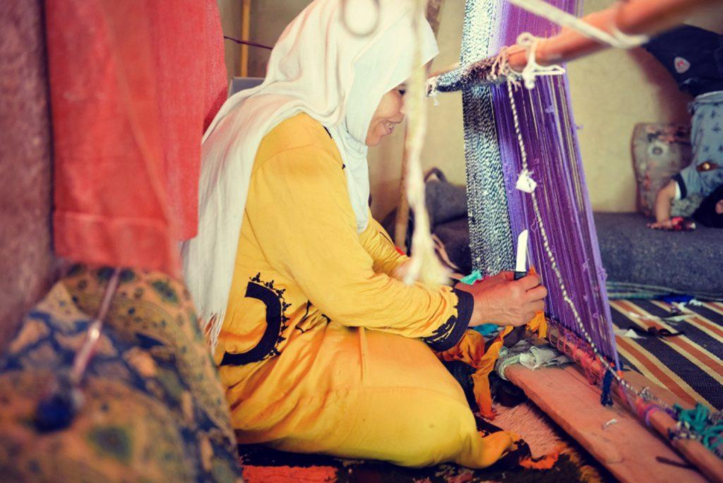 Un nouveau projet pour soutenir l'artisanat local et l'autonomie des femmes