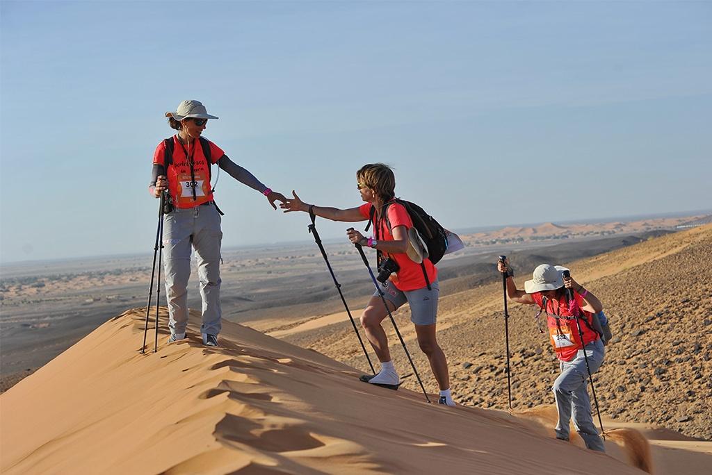 Chiffres clés de la 3ème édition du Trek Rose Trip Maroc
